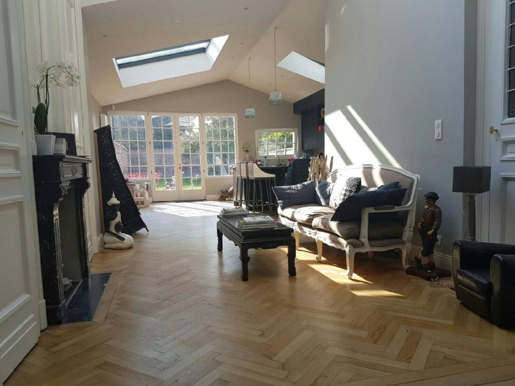 Photo de rénovation intérieure plâtrerie peinture à Lille